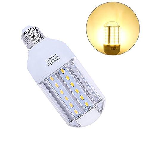 Ampoule Led E27 Mais 15W Blanc chaud équivalent à 100W,Lampe Led 220V 1500LM 6000k,Idéal Pour Applique Murale,Lampe De Table, Lustre, Porte d'entrée,Plafonnier,Chambre,Couloir,Angle de diffusion 360°
