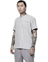 Camisas Ropa Y Polos es Mao Camisas Amazon Cuello Camisetas qtH8Fx