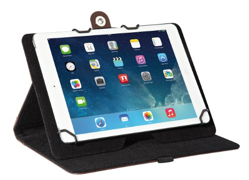 Wedo 58709707 TrendSet Case (mit Universalhalter für Tablet-PC (9,7 bis 10,5 Zoll)) braun