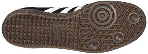 adidas Samba Og, Scarpe da Ginnastica Basse Uomo, Nero (Core Black/Footwear White/Gum), 46 2/3 EU