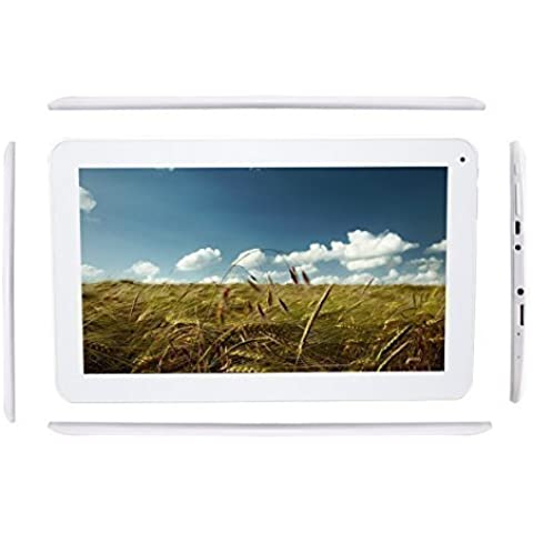 Haehne Pad-1 10.1 Pulgadas Google Tablet PC, TN HD 1024*600P Capacitiva Pantalla, Android 4.4 KitKat, Quad Core Allwinner A33 1GB RAM 16GB ROM 1.3GHz, Duales Cámaras 0.3MP 2.0MP, WiFi, Bluetooth,
