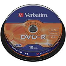 DVD-R 16X 4.7GB SPINDLEX10 4.7GB 16X SPEED AZO