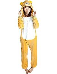 Yimidear® Unisex Cálido Pijamas para Adultos Cosplay Animales de Vestuario Ropa de Dormir Halloween y