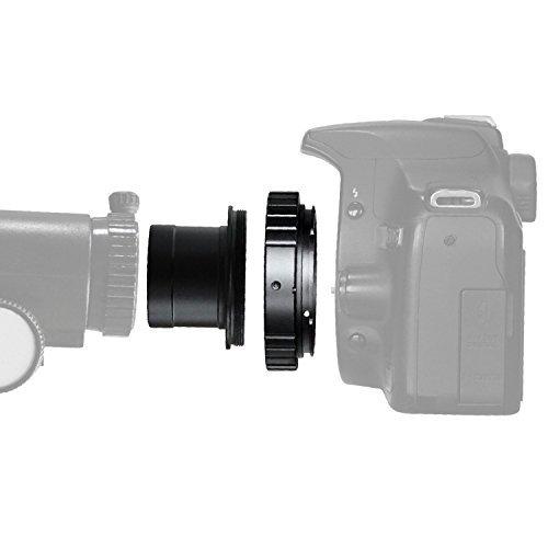 Solomark T-Ring und M42 auf 31,7 mm Teleskop Adapter (T-Mount) für alle Canon EOS SLR/DSLR-Kameras Dslr-kamera-mount-adapter