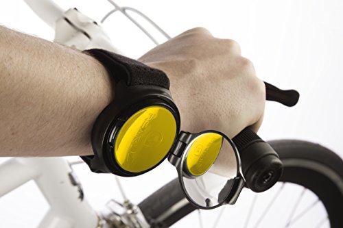 RearViz SL-15 espejo de bicicleta (Amarillo - Yellow)