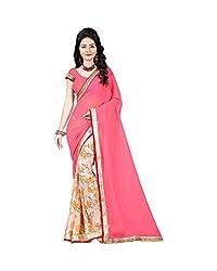 Airson Fab Pink New Designer Saree
