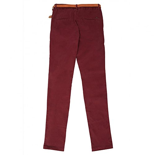 Scotch & Soda Slim Fit Chino Trousers Berry