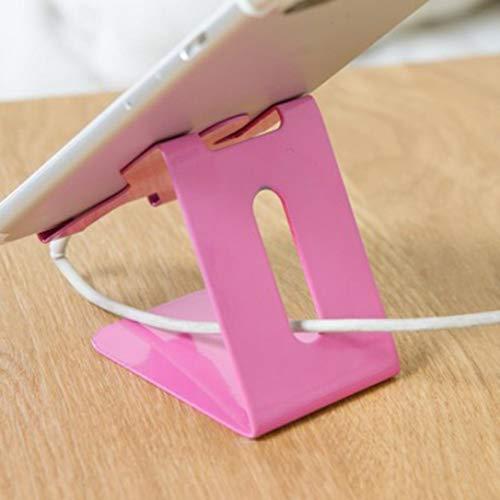 TAOtTAO Handy Stand Handy Ladestation Desktop Stand Handy-Unterstützung (Pink)