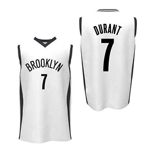 Kevin Durant (7) NBA Basketball Trikot - Brooklyn Nets - 2019/2010 - Weiß - Herren (S)