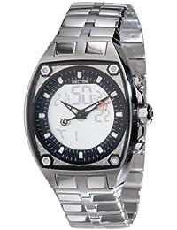 Sector Herren-Armbanduhr Analog Quarz Edelstahl R3253411015