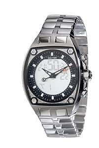 Sector - R3253411015 - Série 500 - Montre Homme - Multifonction - Analogique et Digitale - Bracelet acier
