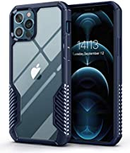 Mobosi iPhone 12 pro max case, vanguard armor series, heavy duty military grade design shockproof case, rugged
