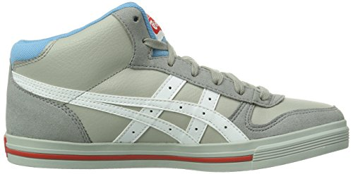 Onitsuka Tiger AARON MT Unisex-Erwachsene Hohe Sneakers Grau (LIGHT GREY/WHITE 1301)