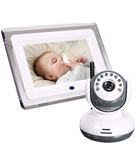 Infantinos Baby-Monitore Wireless Zwei-Wege-Gespräch Zurück Audio Infrarot-Nachtsicht-Wand-Kamera Lullabies Babyphone