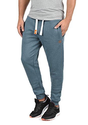 !Solid BennPant Herren Sweatpants Jogginghose Sporthose Mit Fleece-Innenseite Und Kordel Regular Fit, Größe:XXL, Farbe:Grey Blue Melange (1946M)