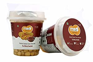 Mad for Nuts Boiled Sweet Corn Kernels - Schezwan, 225 g (Pack of 6)