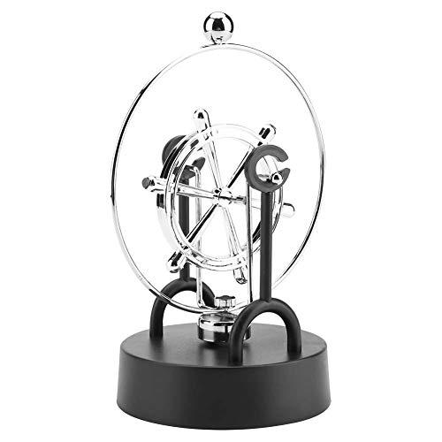 Perpetual Motion Model, Shake Wiggle Device Electronic Perpetual Motion Desktop Spielzeug Swinging Kinetic Art Craft Decoration #205 Motion Desktop