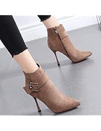 Para Y Zapatos Mujer Botas es Amazon Antes 34 xTzOOXq