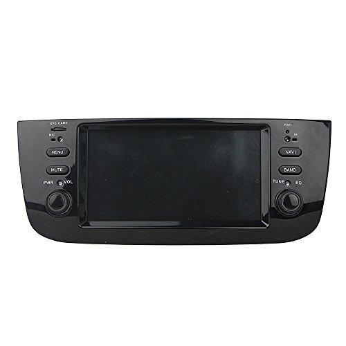 Android 9.0 Octa Core lettore multimediale di navigazione GPS Car stereo per Fiat linea 2014 2015 punto 2012 - 2015 autoradio Controllo del volante WiFi Bluetooth SD mappa