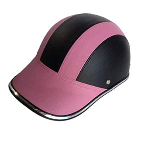 chungeng Nützlich Erwachsene Fahrrad Helm Spezial für Männer Damen Sicherheit Schutz Windfest Motorrad Elektrisch Fahrradhelm Verstellbar Leder Warm für Camping,...
