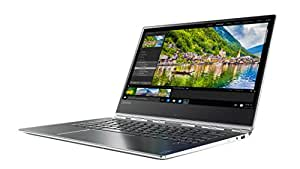 "Lenovo Yoga 910-13IKB Notebook Convertibile, Display da 13.9"" UHD IPS Multi-Touch, Intel Dual-Core i7-7500U, 2.7 GHz, 16 GB RAM, SSD da 512 GB, GPU Intel Integrato, Argento"