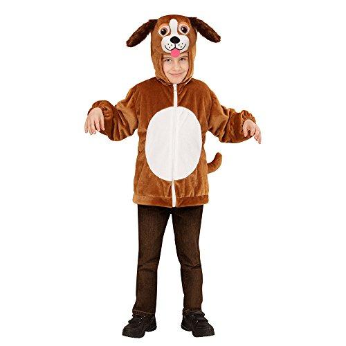 Widmann 97472 - Kinderkostüm Hund aus Plüsch, Jacke mit Kapuze und ()