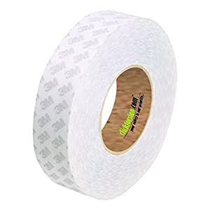 3M TA-91091-P1-2 Double Sided Self Adhesive, High Bonding, High Performance Tissue Tape 12 x 50 meter, Pack of 1