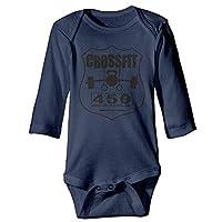 VTXWL Unisex Newborn Bodysuits Crossfit Girls Babysuit Long Sleeve Jumpsuit Sunsuit Outfit Navy
