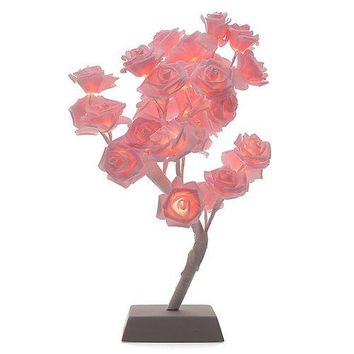 32 Rosenblüten mit LED-Beleuchtung