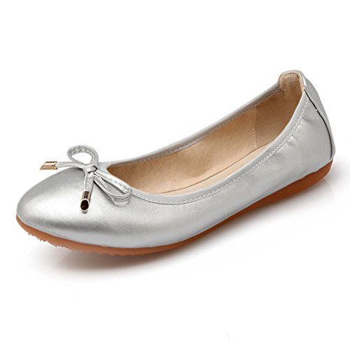 Eagsouni roll-up piegato ballerine flats basse after party scarpe tascabile