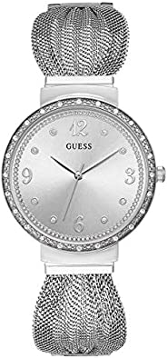 Guess Womens Quartz Watch, Analog Display and Stainless Steel Strap W1083L1