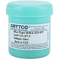 Akozon Pasta de Soldadura de Estaño para PCB BGA CSP, RMA-223-UV 100g