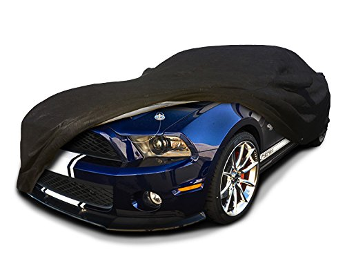 CarsCover Custom Fit 2005-2014 Ford Shelby GT350 / GT500 Autoabdeckung für 5-lagiges Ultrashield Black Mustang GT 350 GT 500 (Mustang Cover 2010 Car)