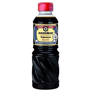 KIKKOMAN Soja-Sauce, 2er Pack (2 x 500 ml)