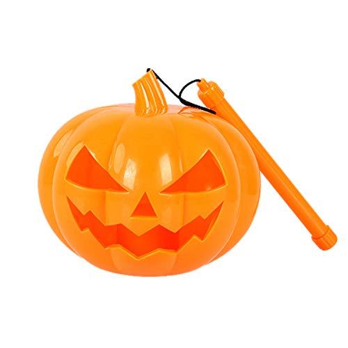 WSXX 2 stück, Halloween Horror klingt hohl, Tragbare projektion kürbis Lampe Kinder Spielzeug Laterne fest
