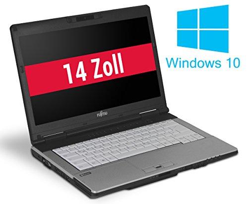 Fujitsu LifeBook S751 14 Zoll Laptop Notebook - Intel Core i3 2x 2,3 GHz 4 GB DDR3 320 GB HDD DVD-Brenner - Windows 10 Home 64Bit 320 Gb Hdd-dvd