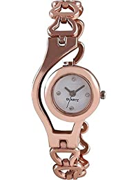 Exotica Bronze Chain Watch For Girls | Suitable For Casual Wear | Party Wear | Fashion Wear | For Girls & Women