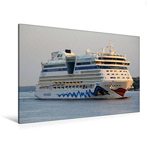 Preisvergleich Produktbild Premium Textil-Leinwand 120 cm x 80 cm quer, AIDAluna | Wandbild, Bild auf Keilrahmen, Fertigbild auf echter Leinwand, Leinwanddruck (CALVENDO Orte)