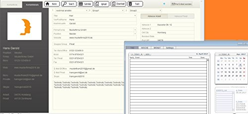 Prof AD2Rubrica Indirizzi del software gestione aziendale Indirizzi Kunde Indirizzi privato Indirizzi Indirizzo gestione dei dati per Windows7-10(Va anche per Cloud dropbox onedrive Cloud Drive Google Drive,.. bis usb flash drive)
