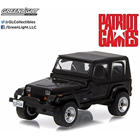 Greenlight 1:64 Hollywood Series 13 1987 Jeep Wrangler YJ Patriot Games (1992) by Greenlight