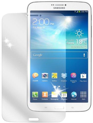 dipos Samsung Galaxy Tab 3 8.0 SM-T311 (Mit Telefonfunktion) Schutzfolie (2 Stück) - kristallklare Premium Folie Crystalclear