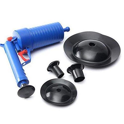 hothuimin High Druck Air Abfluss Pumpe Pümpel Air Power Drain Blaster Rohr Baggers Tools blau (Drain-stoff)
