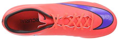 Nike - Mercurial Victory V IC, Scarpe da calcio da uomo Rot (Bright Crimson/Prsn Violet-Blk 650)