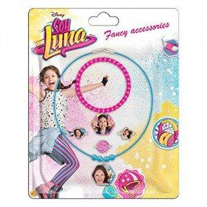 SOY LUNA DISNEY - Soy Luna WDSL062. Set de collares, pulsera y anillos