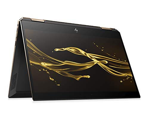 HP Spectre x360 13-ap0016ng (13,3 Zoll / FHD IPS Touch) Convertible Laptop (Intel Core i7-8565u, 256GB SSD, 8GB RAM, Intel UHD Graphics 620, Win 10 Home) Dark Ash Silber -