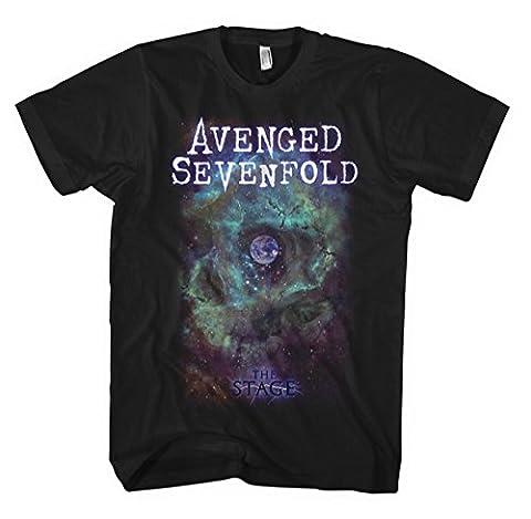 Avenged Sevenfold The Stage T-Shirt schwarz L