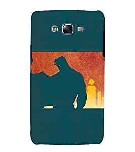 EPICCASE Superguy the Saviour Mobile Back Case Cover For Samsung Galaxy J7 (Designer Case)