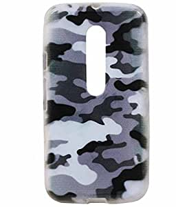 Water Paint Exclusive Rubberised Back Case Cover Motorola Moto G (3rd Generation) Moto G3