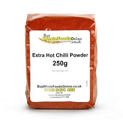 Chilli Powder Extra Hot 250g by Buy Whole Foods Online Ltd.