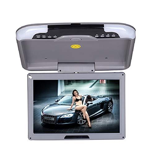 Monitor video abatible montaje techo 12 pulgadas automóvil